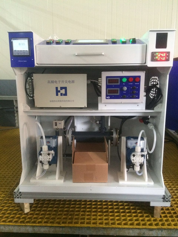Small automatic electrolysis for chlorine sodium hypochlorite plant