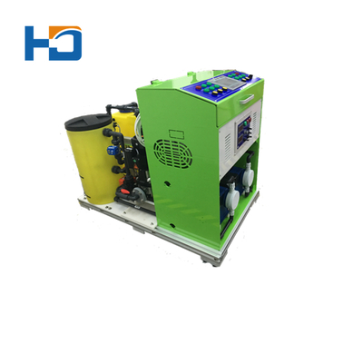Small Sodium Hypochlorite Generation For Household Water Disinfection